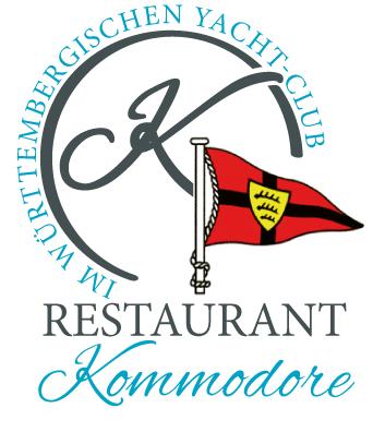 Kommodore Friedrichshafen Restaurant mit großer Sonnenterrasse in Friedrichshafen am Bodensee am Yachtclub